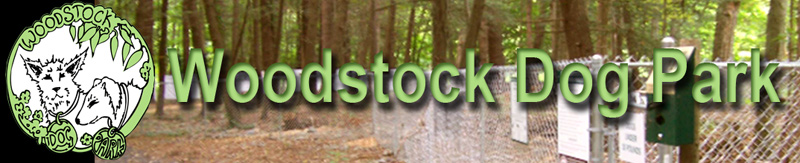 Woodstock Dog Park Banner